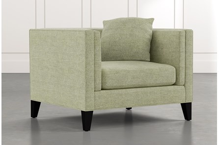 Avery II Green Arm Chair
