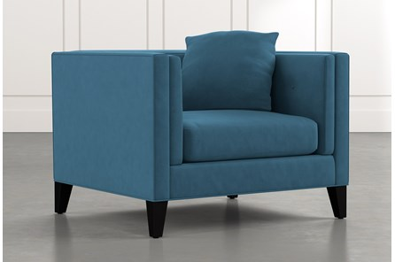 Avery II Teal Arm Chair
