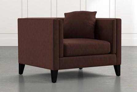 Avery II Brown Arm Chair
