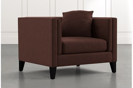 Avery II Brown Arm Chair