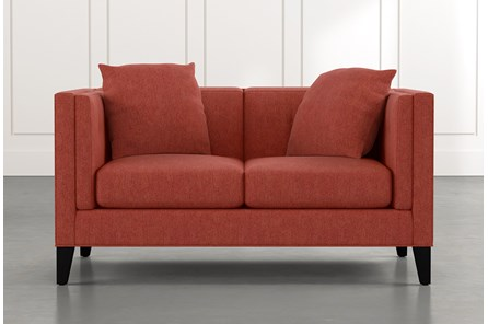 Avery II Red Loveseat