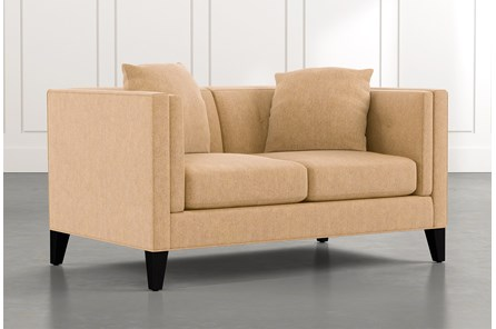 Avery II Yellow Loveseat