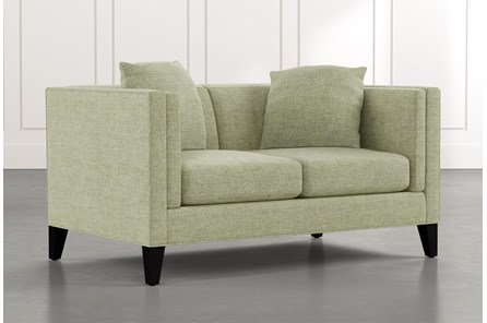 Avery II Green Loveseat