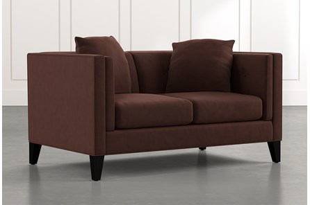 Avery II Brown Loveseat