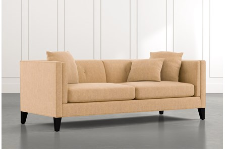 Avery II Yellow Sofa