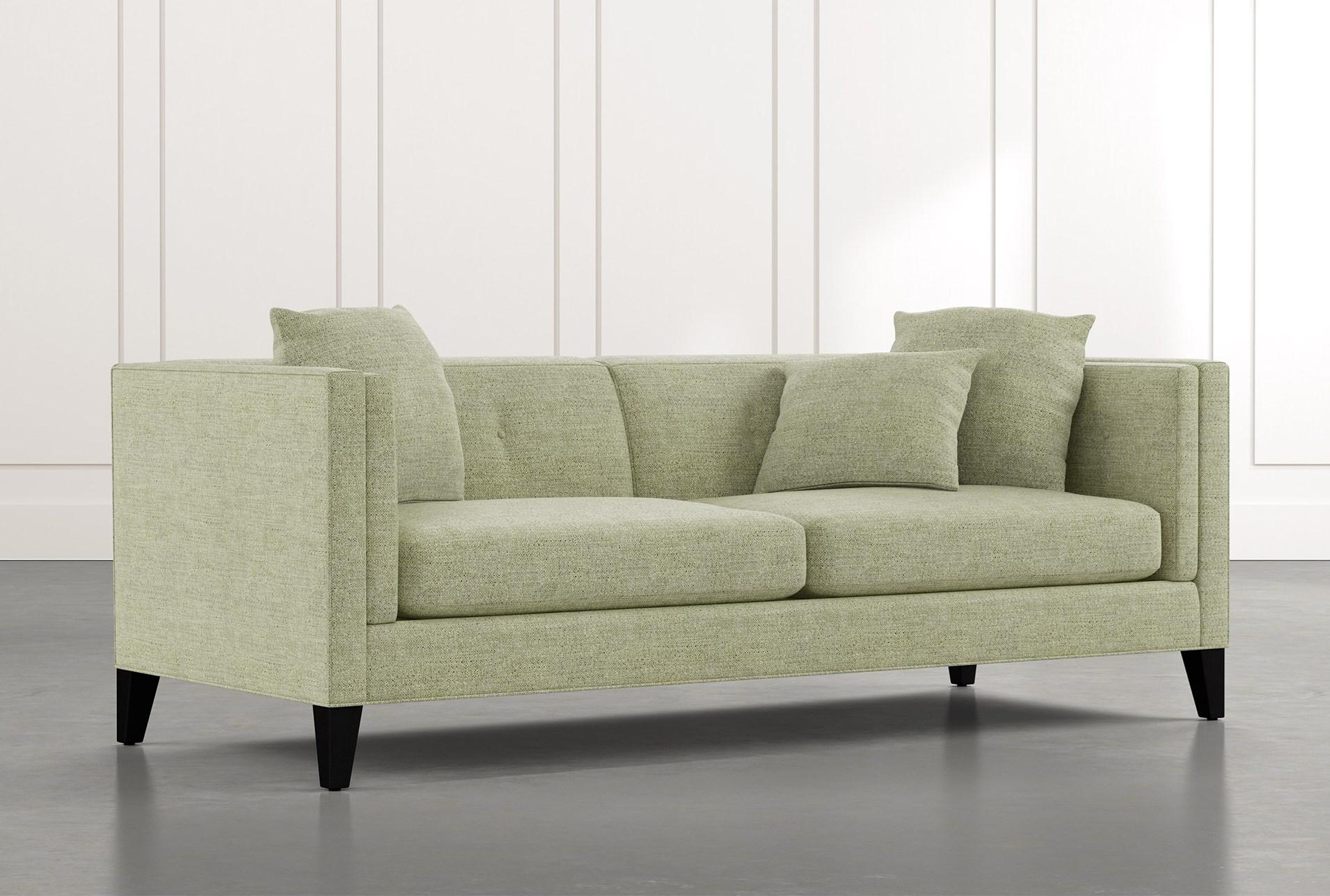 Avery II Green Sofa