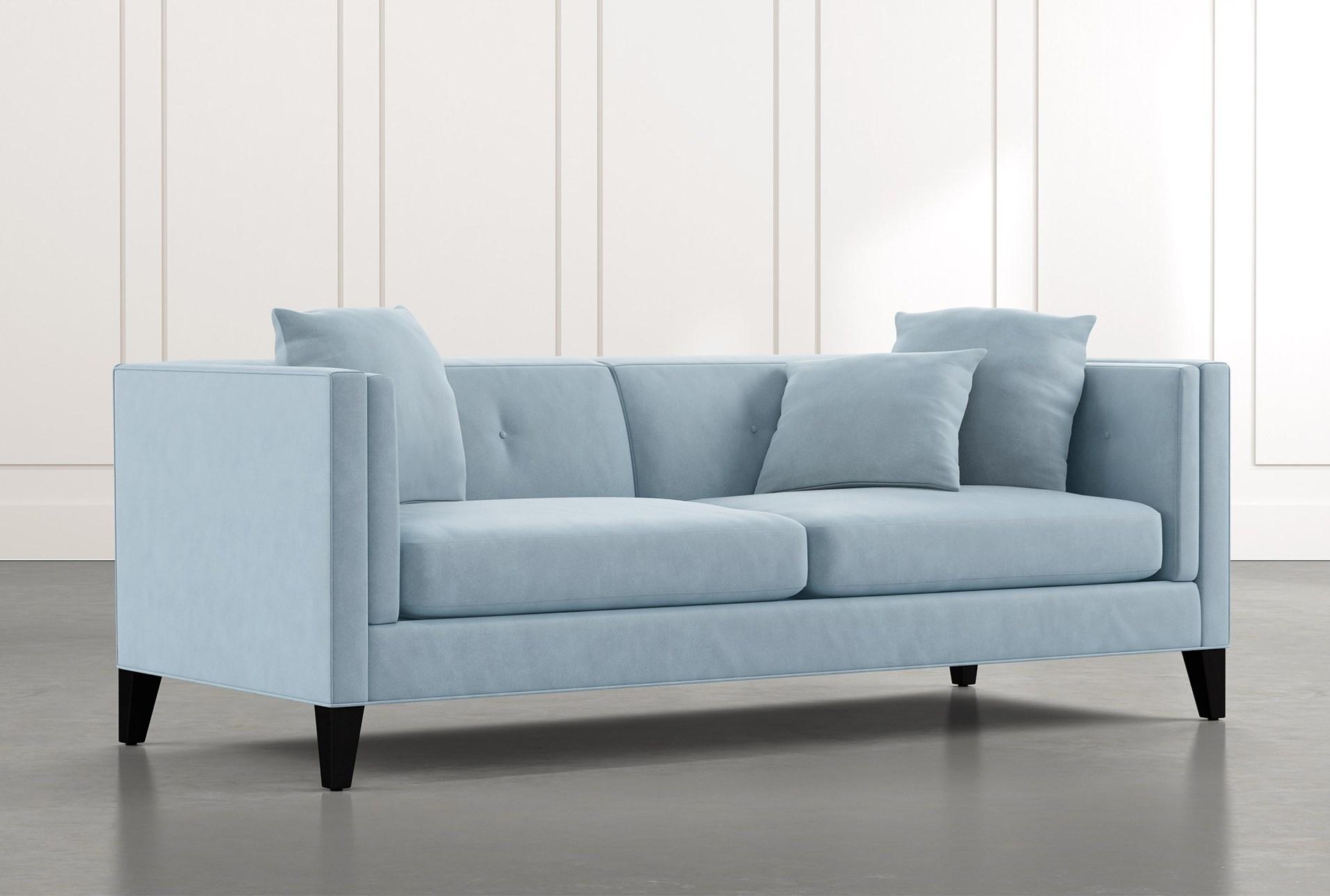 Avery Ii Light Blue Sofa