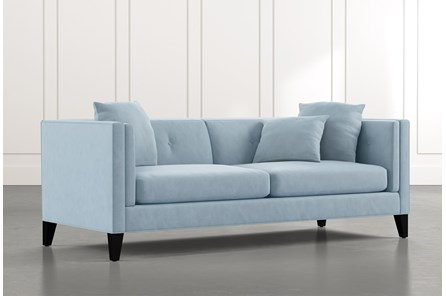 Avery II Light Blue Sofa