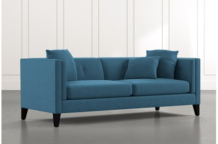 Avery II Teal Sofa
