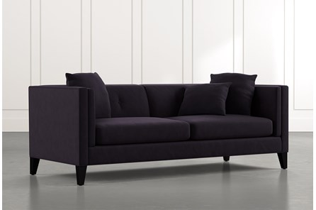 Avery II Black Sofa