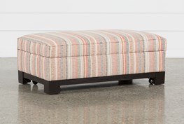 Cypress II Accent Storage Ottoman