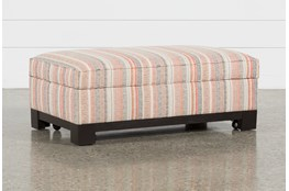 Cypress II Foam Accent Storage Ottoman