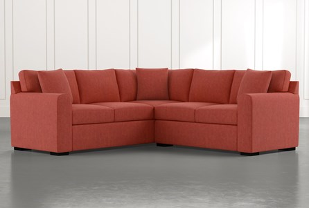 Cypress II Red 2 Piece Sectional