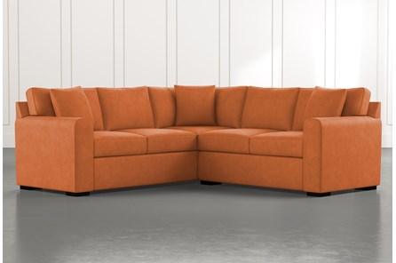 Cypress II Orange 2 Piece Sectional