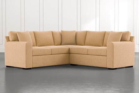 Cypress II Yellow 2 Piece Sectional