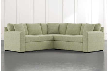 Cypress II Green 2 Piece Sectional