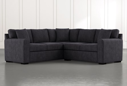 Cypress II Black 2 Piece Sectional