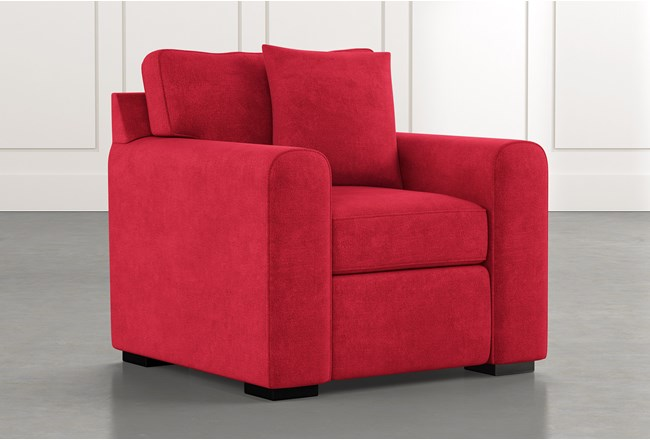 Cypress II Red Chair - 360