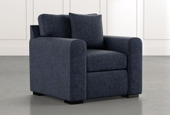 Cypress II Navy Blue Chair