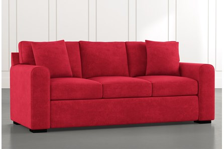 Cypress II Red Sofa