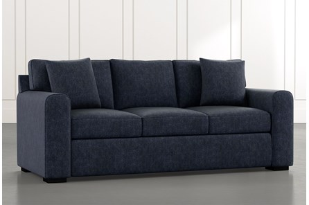 Cypress II Navy Blue Sofa