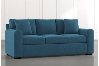 Cypress II Teal Sofa