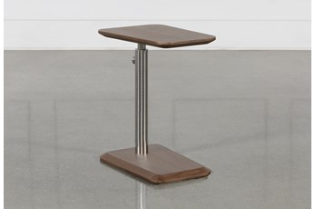 Badger Adjustable Chairside Table