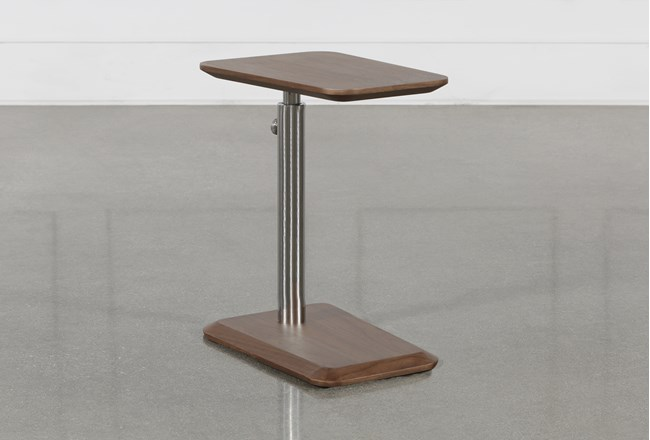 Badger Adjustable Chairside Table - 360