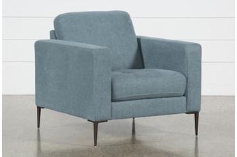 Aaron Steel Blue Chair