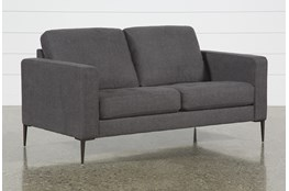 Aaron Charcoal Loveseat