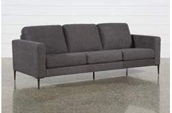 Aaron Charcoal Sofa