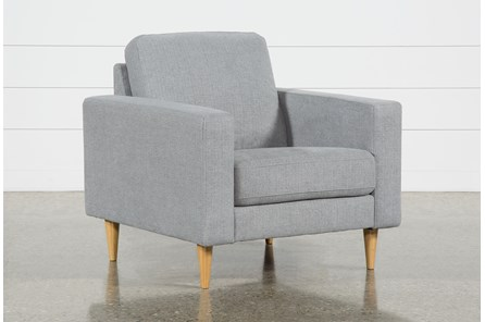 Angie Light Grey Chair - Main