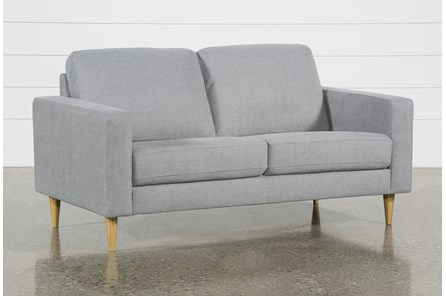 Angie Light Grey Loveseat