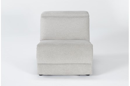 Chanel Grey Armless Chair