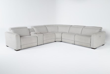 Chanel 6 Piece Power Reclining Sectional