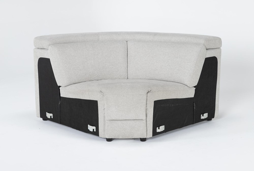 Chanel Grey Corner Wedge