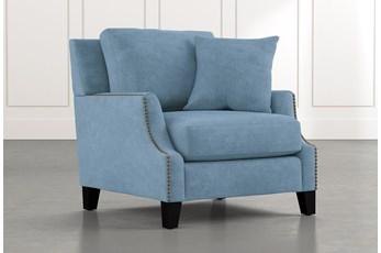 Kayla Light Blue Chair