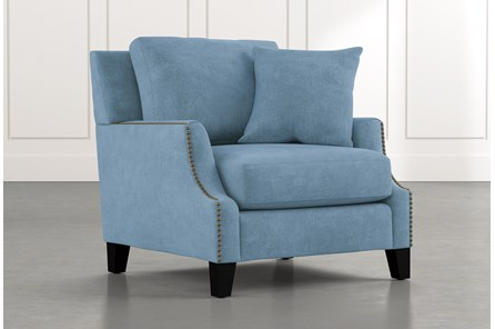 Kayla Light Blue Chair