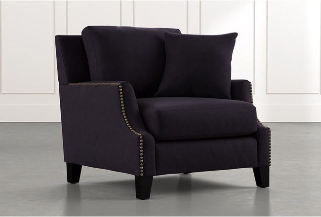 Kayla Black Chair - 360