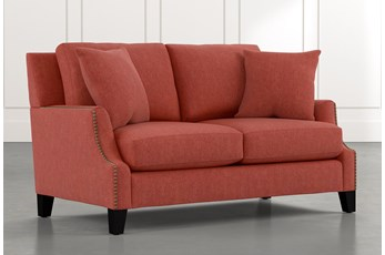 Kayla Red Loveseat