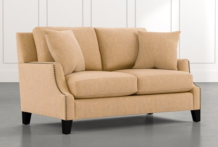 Kayla Yellow Loveseat