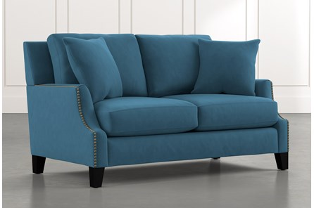 Kayla Blue Loveseat
