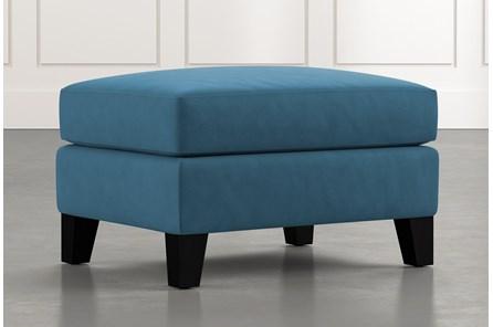 Kayla Blue Ottoman