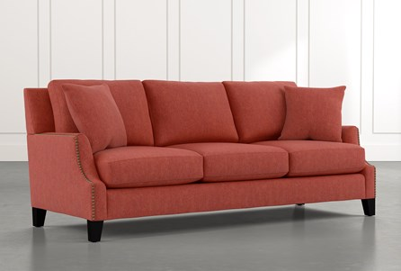Kayla Red Sofa