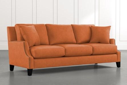 Kayla Orange Sofa