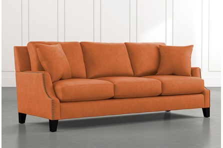 Kayla Orange Sofa