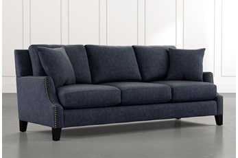 Kayla Navy Blue Sofa