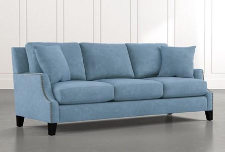 Kayla Light Blue Sofa