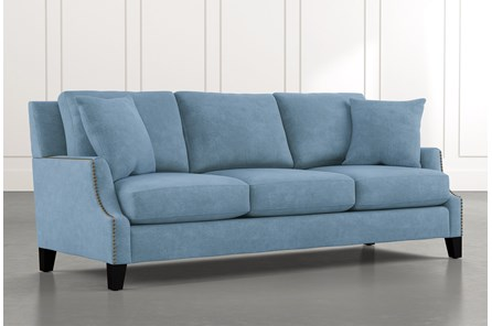 Kayla Light Blue Sofa