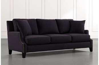 Kayla Black Sofa